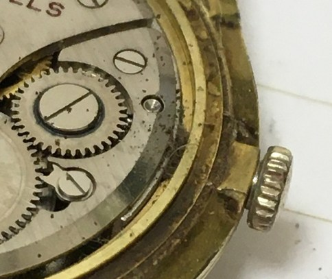 regency mech hair in ebay watch