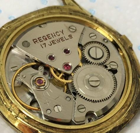 regency mech movt watch