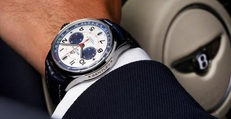breitling bentley mulliner model watch white dial