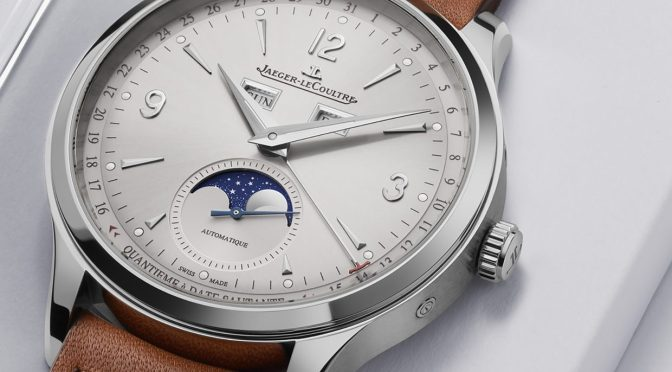 New Watches: JLC Master Control is One For The Watchmakers