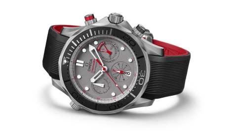 omega seamaster etnz grey dial