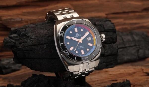 AUDRIC seaborne diver watch kickstarter