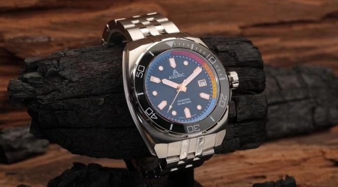 Kickstarter Watches: AUDRIC Offers 500m Depth, SW200 Movt, SuperLume