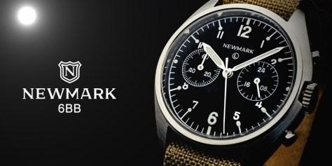 newmark recreation pilot watch uk made