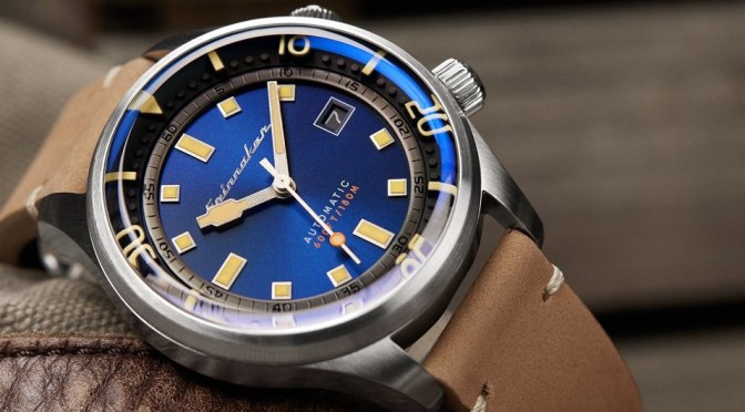 Spinnaker Bradner Offers Nice Divers Style & Spec for The Money