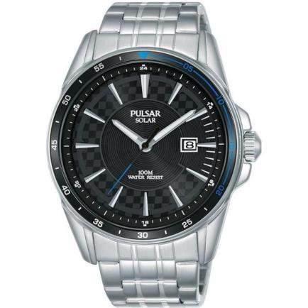 Pulsar-Accelerator-Solar-Steel-Mens best price