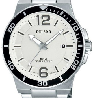 pulsar white dial PS9 model summer sale