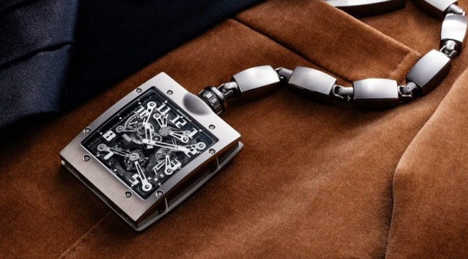 Richard Mille Re-Invents The Pocket Watch