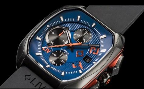 LIV rebel blue dial
