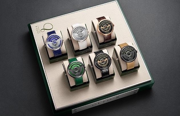 Olto 8 unique watch kickstarter colours range
