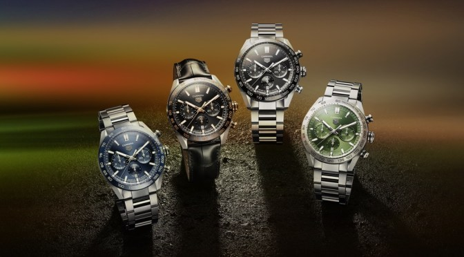 New TAG Carrera Racing Models Look Sharper, With 80 Hour Reserve