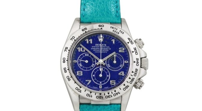 Watch Market: Rolex Cosmo Sets Auction Record in Hong Kong