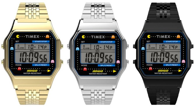 Timex PAC-MAN is a Kick Up The Eighties