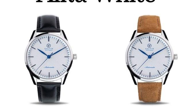 Kickstarter Watches; Australian Brand Galvin Funds Project in 6 Minutes