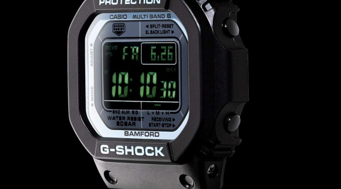 Bamford London Special Edition G-Shock Solar Launches This Week