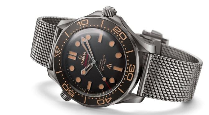 Latest Omega Bond 007 Watch Has a Military Feel