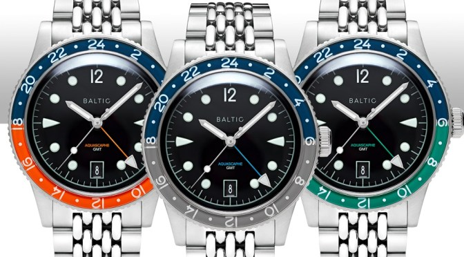 Baltic Gets Set to Launch Aquascaphe GMT