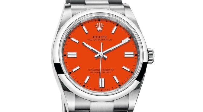 2020 Rolex Oyster: Are Offbeat Dial Colours The Smart Choice?