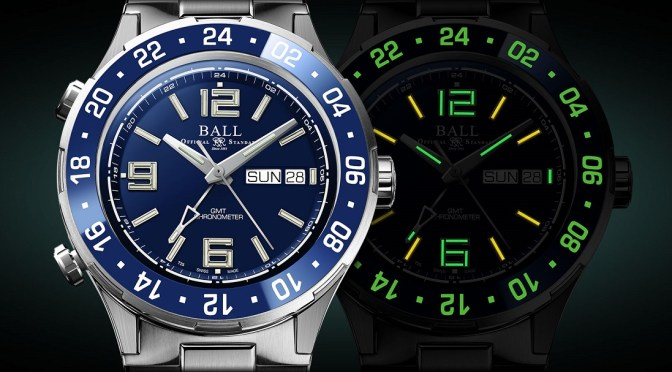 Ball Roadmaster Marine GMT Now in Deep Blue
