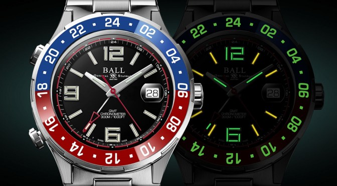 Latest Ball GMT Has Quickset Tech