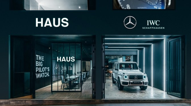 IWC Open New Haus Boutique in Partnership With Mercedes