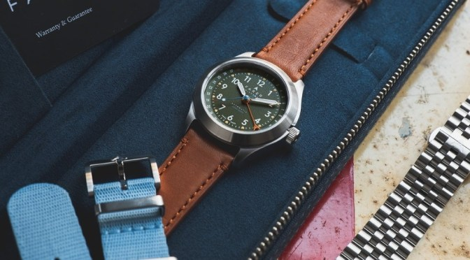 Farer Exmoor Automatic Has That Military Edge