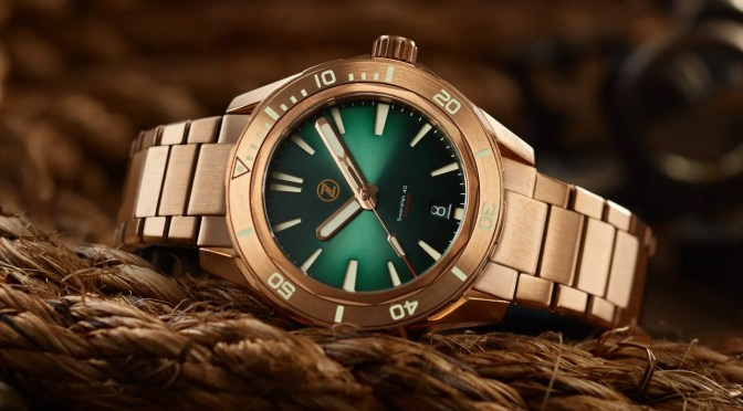 Zelos Swordfish Bronze Bracelet Edition