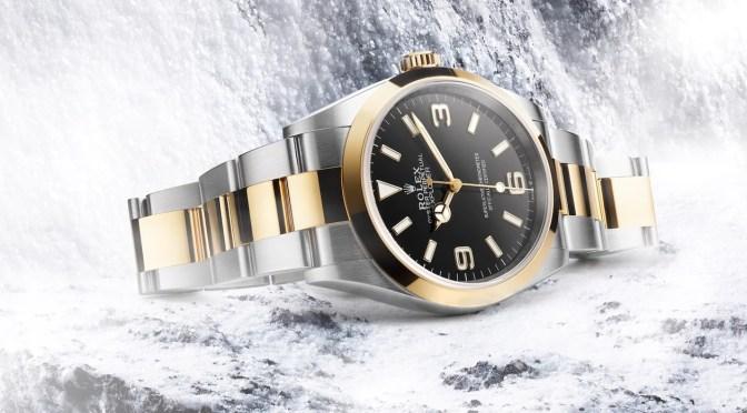 New Rolex Explorer: 36mm Case, Two-Tone Bracelet