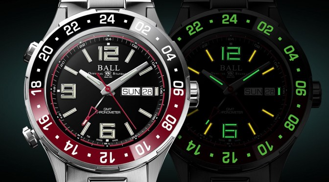 Ball Roadmaster Marine GMT Gets New Colours