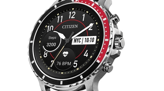 Go Big or Go Home? New 46mm Smartwatch From Citizen