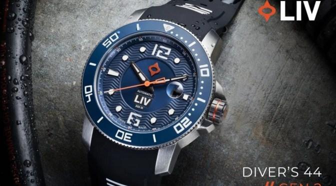 LIV GX Diver: Generation 2 On Kickstarter Now