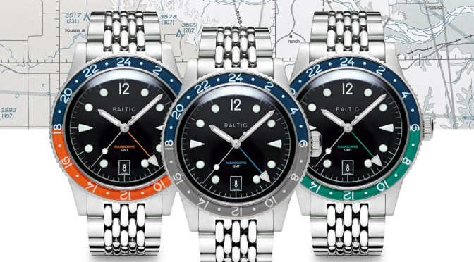 Baltic Aquascaphe GMT is Classic Tool Watch, Pricey Though