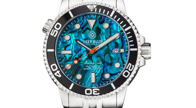 New Abalone Dials From Deep Blue