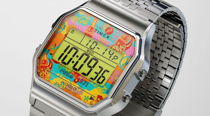 Timex Digital Captures That 70s Vibe