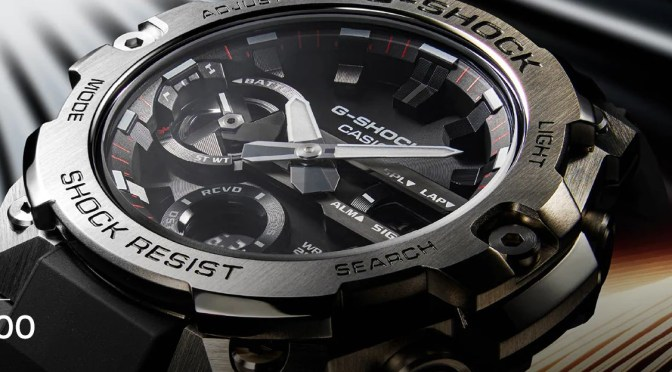 Would You Like a Thinner G-Shock?