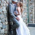 Courtyard Wedding Photo