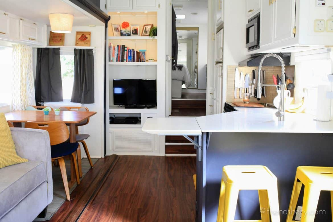 Tiny House Living Camper Home Reveal The Noshery