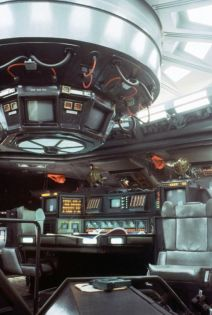 """""""The interior of the Nostromo was so believable,"""" HR Giger told Famous Monsters, """"I hate these new-looking spacecraft. You feel like they're just built for the movie you're seeing. They don't look real."""""""