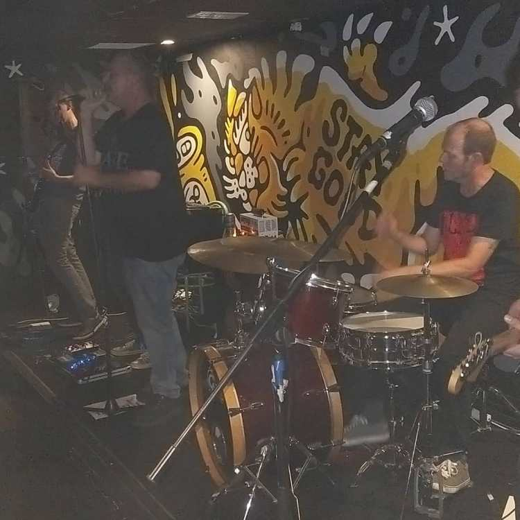 a gig at Greaser bar that was organised using this gig matchmaking service