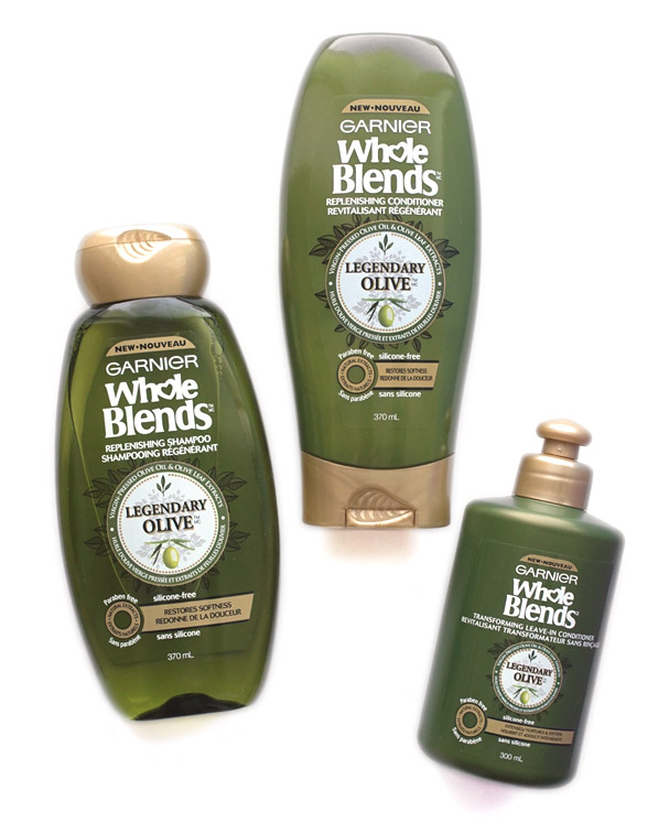 TheNotice Garnier Whole Blends Legendary Olive Review