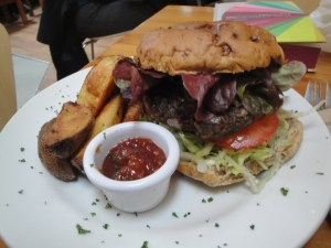 Alley Cafe Hemp Burger