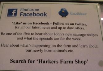 Hawkers Farm Social Media