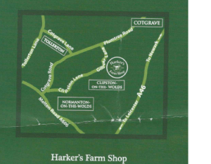 Harkers Location