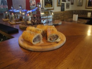 Freshly Made Sausage Rolls
