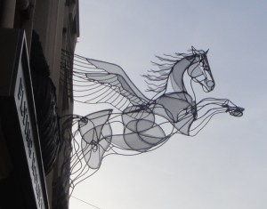 Flying Horse at Flying Horse walk
