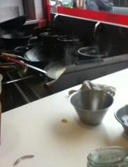 yo yo noodle wok station