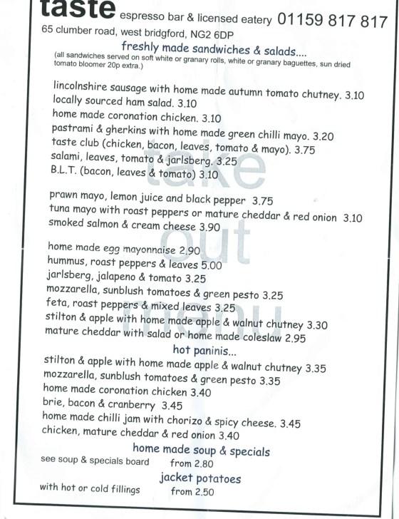 taste menu 1