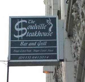 Soulville Signage