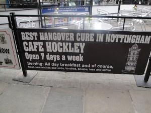 Cafe Hockley Sign