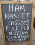 Market Sign Hartland Stall